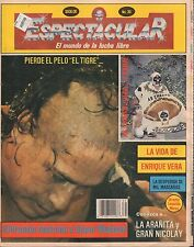 Espectacular Lucha Libre Mexican Magazine No.39 El Tigre, Vida De 022117nonDBE
