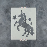 Unicorn Stencil - Durable & Reusable Mylar Stencils