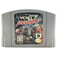 WCW nWo Revenge CARTRDIGE ONLY Nintendo 64 N64 WCW/nWo Revenge