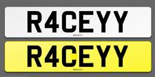 R40 EYY Cherished Reg Number Plate RACE PORSCHE AUDI RS4 RS6 RS LAMBO FAST LOW