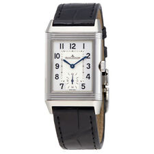 Jaeger LeCoultre Reverso Classic Silver Dial Mens Hand Wound Watch Q2458420