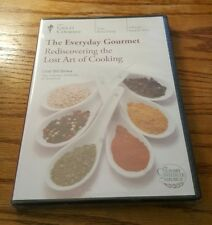 Rediscovering The Lost Art Of Cooking (DVD) Great Courses Everyday Gourmet NEW