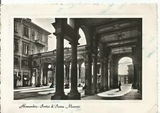 200118 ALESSANDRIA CITTÀ Cartolina FOTOGRAFCA viaggiata 1952