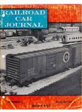 Railroad CAR giornale 1971 BOX CARS vagoni foto informazioni kratville beni