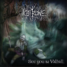 """Icethrone """"See you in Valhall"""" (Nuovo/New) Viking-death-metal"""