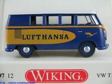 """Wiking 0797 12 VW T1b Bus (1963) """"LUFTHANSA"""" in enzianblau/gelb 1:87/H0 NEU/OVP"""