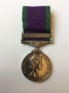 Northern Ireland CSM Medal Royal Engineers - 24168181 SPR J A WHITEHEAD RE