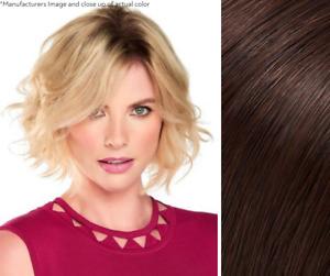 "Imperfect Jon Renau easiPart HD 8"" Topper - Heat Friendly Hair - Color 8"