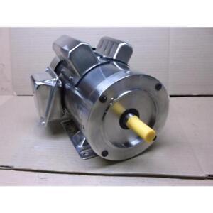DAYTON 11G252 1/2HP WASHDOWN MOTOR,CAPACITOR-START/RUN, 115-208-230/60/1