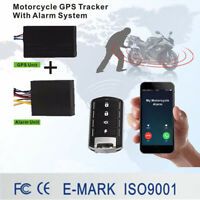 Motorcycle  GPS para moto Tracker + remoto Anti-theft alarm remote control Start