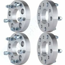 """4Pcs 1.25"""" thick 5x5 to 5x5.5 1/2"""" Studs Wheel Spacers Adapters For Chrysler"""