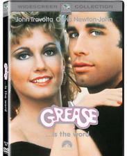 GREASE - DVD - JOHN TRAVOLTA , OLIVIA NEWTON-JOHN