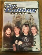 The Calling Live In Italy DVD, 2002 NEW