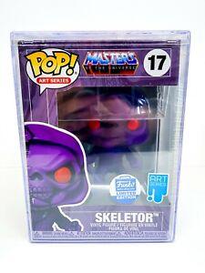 Masters of the Universe - Art Series Skeletor Ltd Ed Funko Pop 17 + Hard Stack