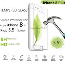 Lot 10x 20x 50x 100x Tempered Glass Screen Protector iPhone X iPhone 8 Plus 7 6
