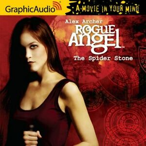Rogue Angel by Alex Archer #3 The Spider Stone MP3 CD Graphic Audio