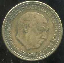 ESPAGNE  1 pesetas 1947    (50)    ( 1 )