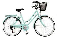 "Aurai Trekker Ladies 26"" Dutch Style Heritage City Bike 6 Speed Bicycle Lagoon"