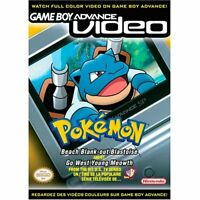 Pokemon Beach Blank-Out Blastoise And Go West Young Meowth - GBA Video