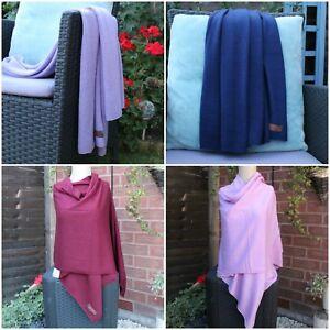 Soft & Warm Wrap shawl cashmere scarf knitting scarf hand loomed in Nepal