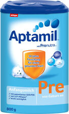 Milupa APTAMIL Pre ORGANIC Baby Formula STAGE 1 (0-6 months) FREE SHIPPING