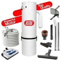 ULTRA Clean Central Vacuum ElectricVac 7,500 sq ft  35' Hose KIT-A SMART INVEST!