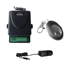 Visionis 5227 One Wireless Remote with One Channel RF Receiver and Power Supply