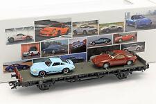 Märklin 45054 H0 Autotransportwagen der DB 70 Jahre Porsche-sportwagen