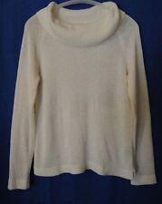 JOSEPHINE CHAUS White Cowl Neckline Sweater size PS