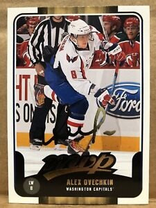 2011-12 UD MVP Gold Alex Ovechkin Washington Capitals