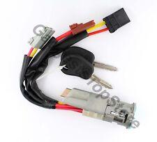 Ignition Lock Barrel & Keys For Peugeot 106 806 Partner Expert Citroen Saxo AX