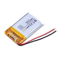 3.7V 300mAh rechargeable Polymer Li battery F Bluetooth pen mp3 gps glass 052030