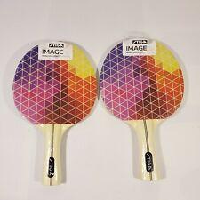 NEW Stiga Image Table Tennis Racket Colorful Geometric Ping Pong Paddles