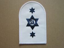 Stores Accountant (Bound 2 Star) Royal Navy Trade Branch Woven Cloth Patch Badge