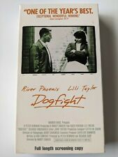 📼 Dogfight (Vhs, 1991) River Phoenix Rare Screener Collectible Vintage Htf Oop