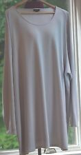 J.Jill Wearever Collection GR TEXTURED TUNIC SIZE XL NWT $79 WASHABL 97% RAYON