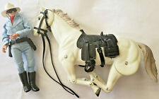 """Lone Ranger and Silver"" Action Figures-Gabriel mid 1970's"