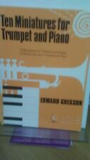 More details for ten miniatures for trumpet & piano - edward gregson - pub brass wind