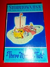 Vintage Bachmann Bros. StoryTown Three Men in Tub Complete in Box