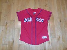 Majestic Red Friday BOSTON RED SOX Womens MLB Baseball Team Stitched JERSEY Sz M