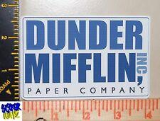 Dunder Mifflin UV Proof Vinyl Sticker~ The Office~Paper Company