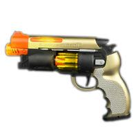 LED Light Up Self Loading Action Toy Pistol Gun