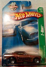 HOT WHEELS : 2008 t hunt :dodge funny car_mint on CARD