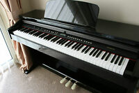 BRAND NEW BLACK Diginova Digital Piano. 88 Fully Weighted Keys.