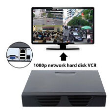 4CH Channel 1080P Network Net Hard Disk Video Recorders DVR NVR US Plug
