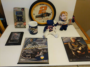 Large lot of Rusty Wallace #2 Miller Lite Nascar collectibles