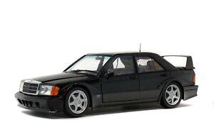 1/18 Solido Mercedes Benz 190 Evo II 1990 W201 black S1801001 cochesaescala