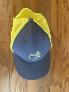 Masters American Needle Youth  National Golf Hat Gray Yellow