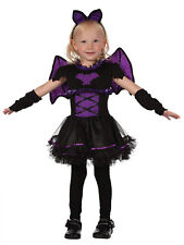 Girls Bat Princess Toddler Costume for Halloween Animal Fancy Dress Outfit Child