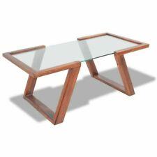 vidaXL 243269 Solid Acacia WoodCoffee Table - Brown